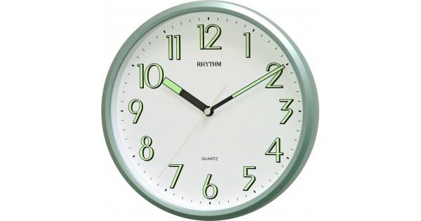 Rhythm Value Added Radium Wall Clock Super Luminous Glow